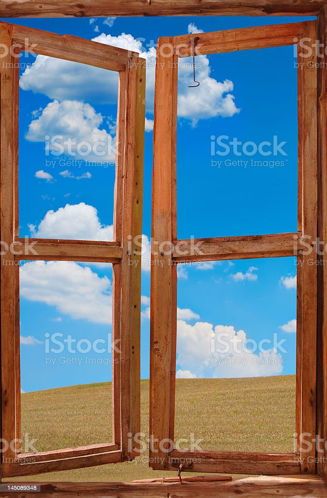 Window of opportunities royalty-free stock photo