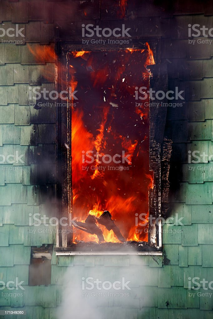 Window of opportunity. stock photo