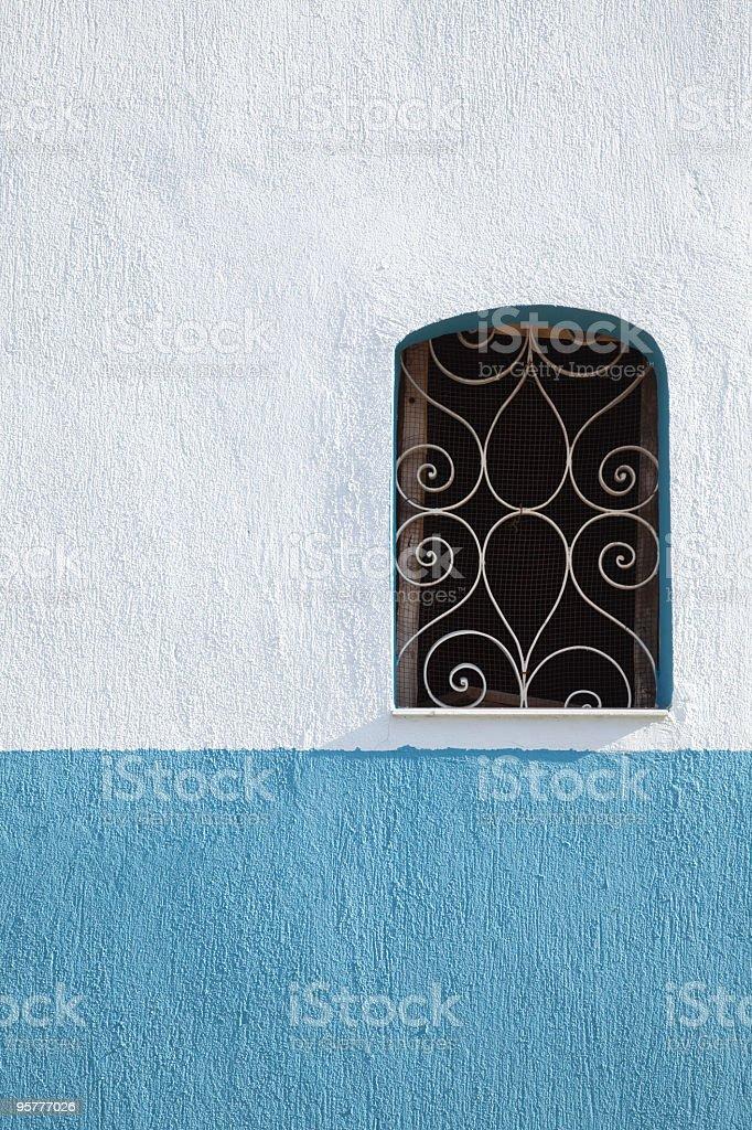 Window on the Wall stock photo