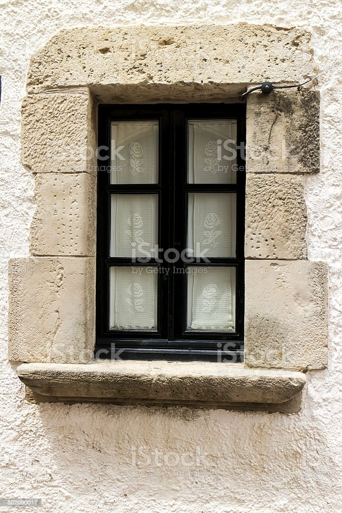 window outdoors from house royalty-free stock photo