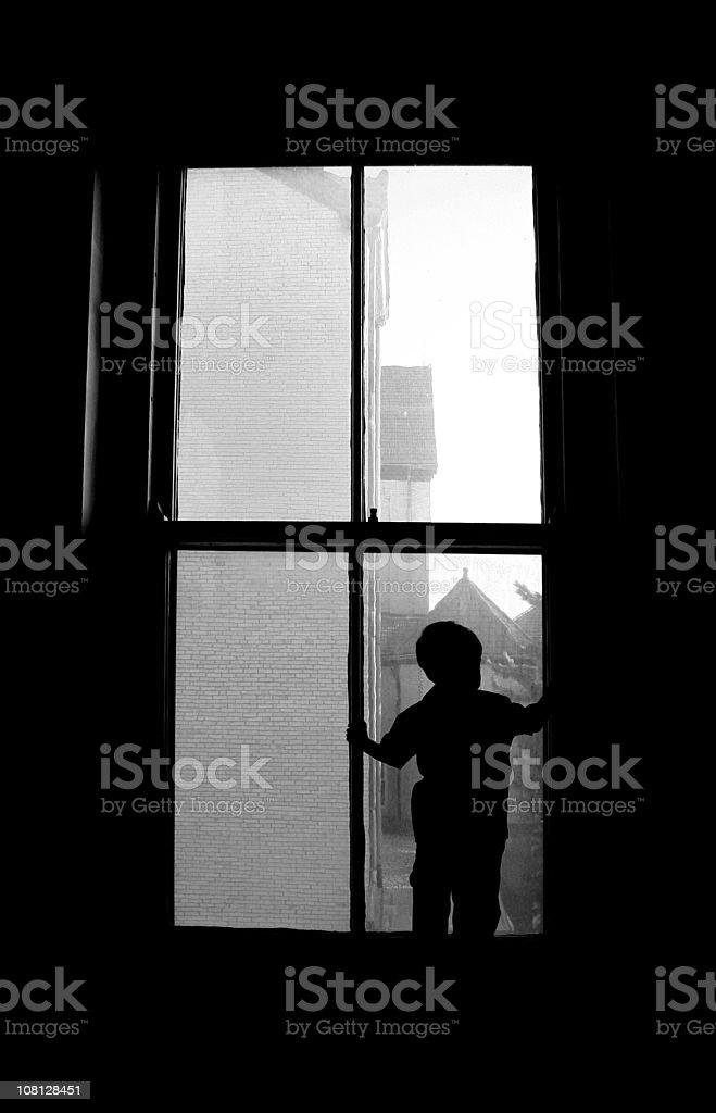 Window Pain royalty-free stock photo