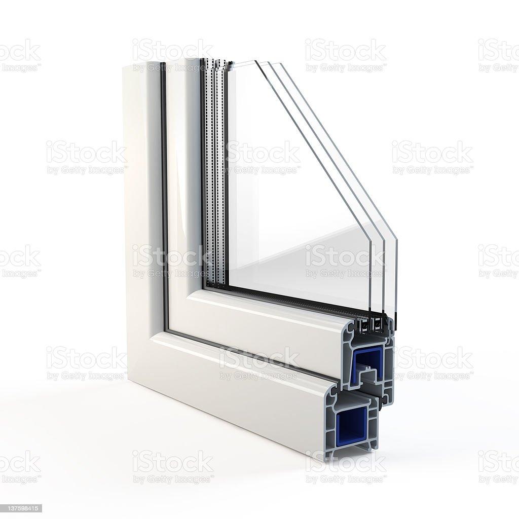 Window profile royalty-free stock photo