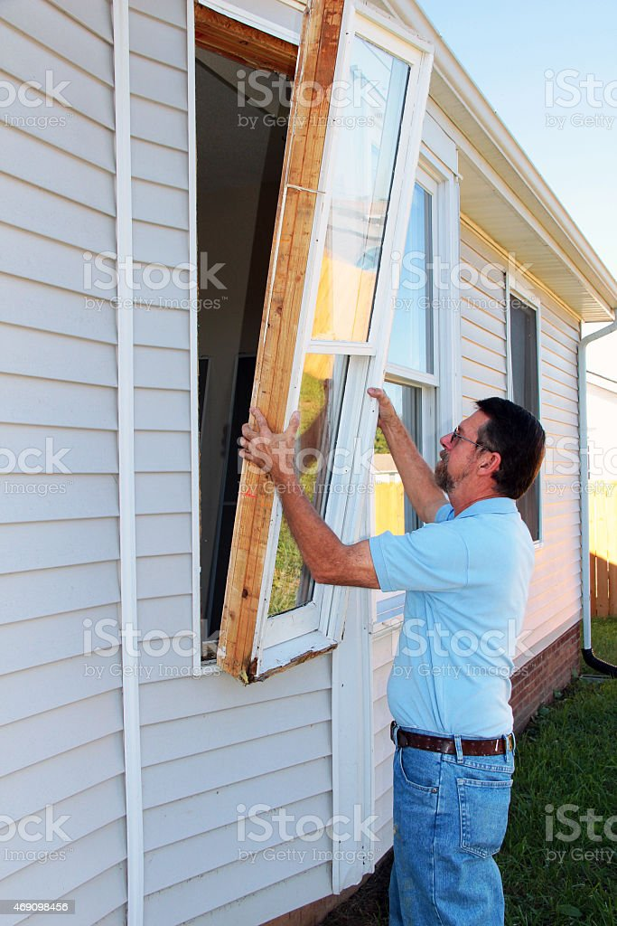 Window Replacement stock photo