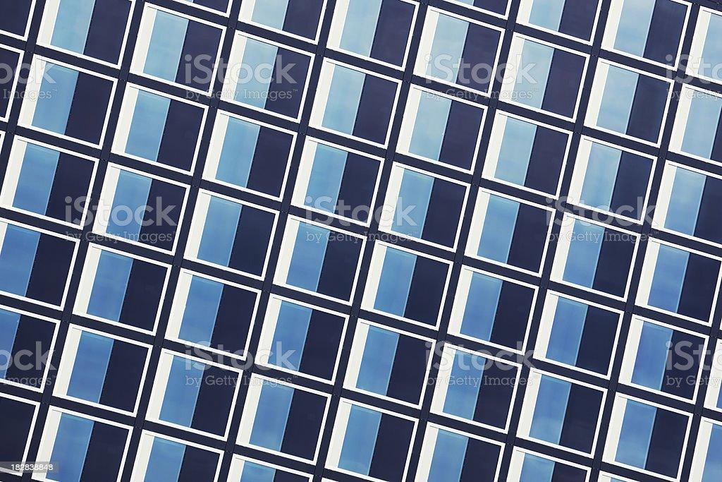 Window rows stock photo
