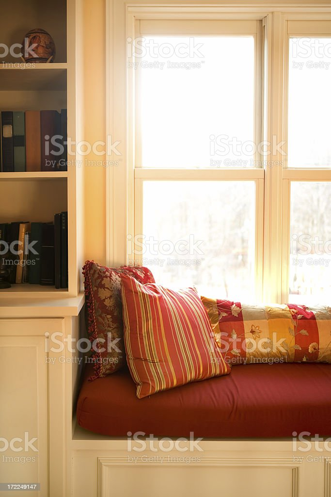 window seat royalty-free stock photo