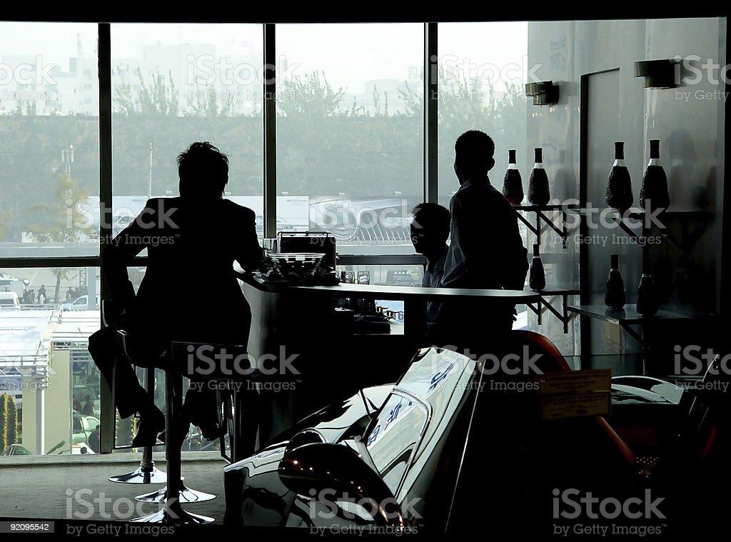 Window shadow royalty-free stock photo