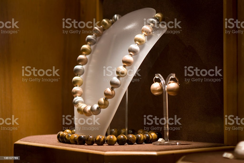 Window Shopping in Europe royalty-free stock photo