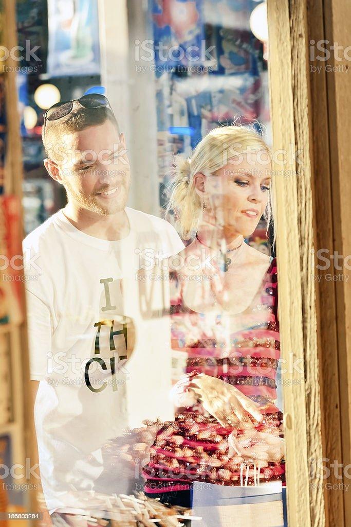 Window shopping. royalty-free stock photo