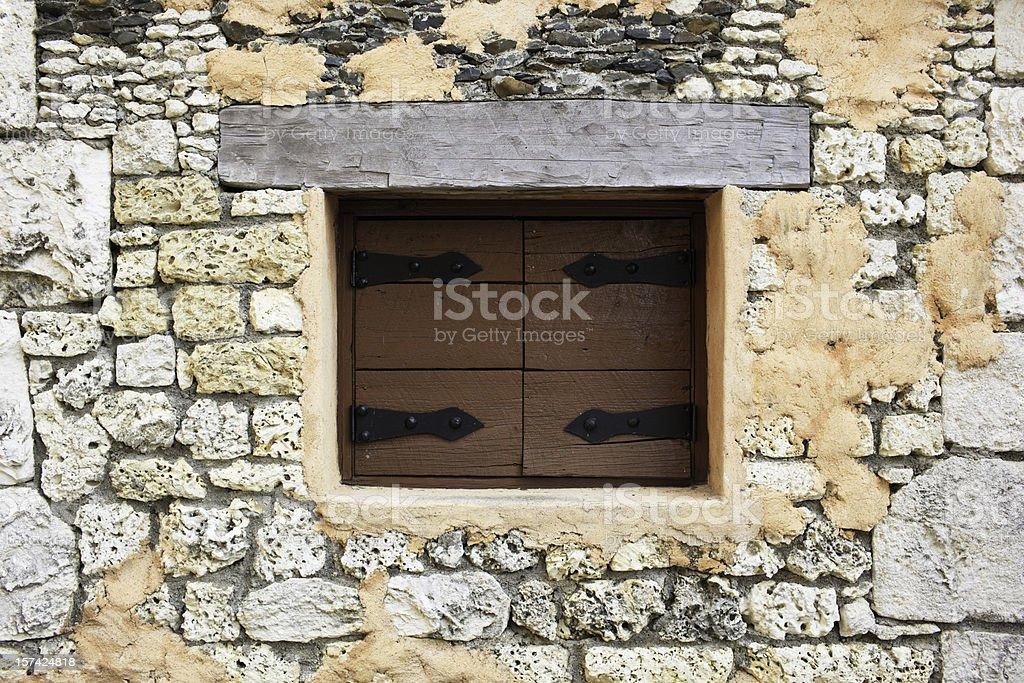 Window Shutter stock photo