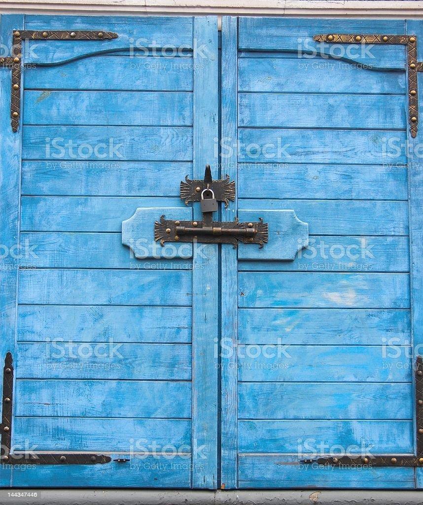 window shutters royalty-free stock photo