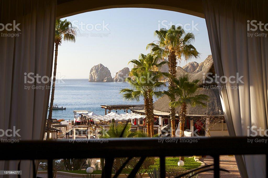 Window to Paradise royalty-free stock photo