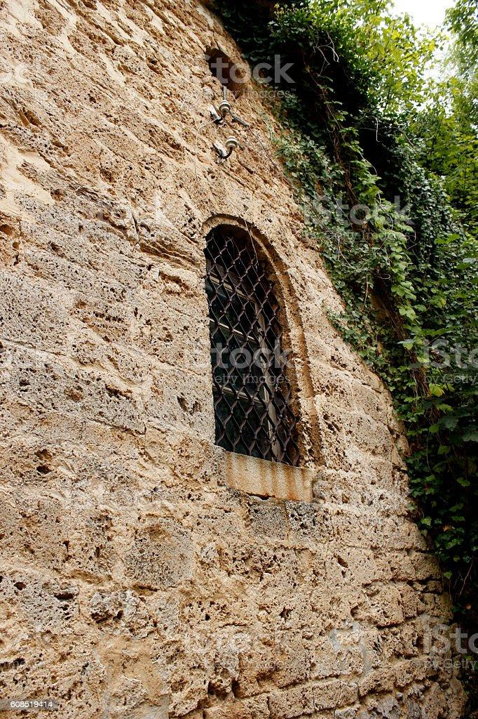 Window Wall stock photo
