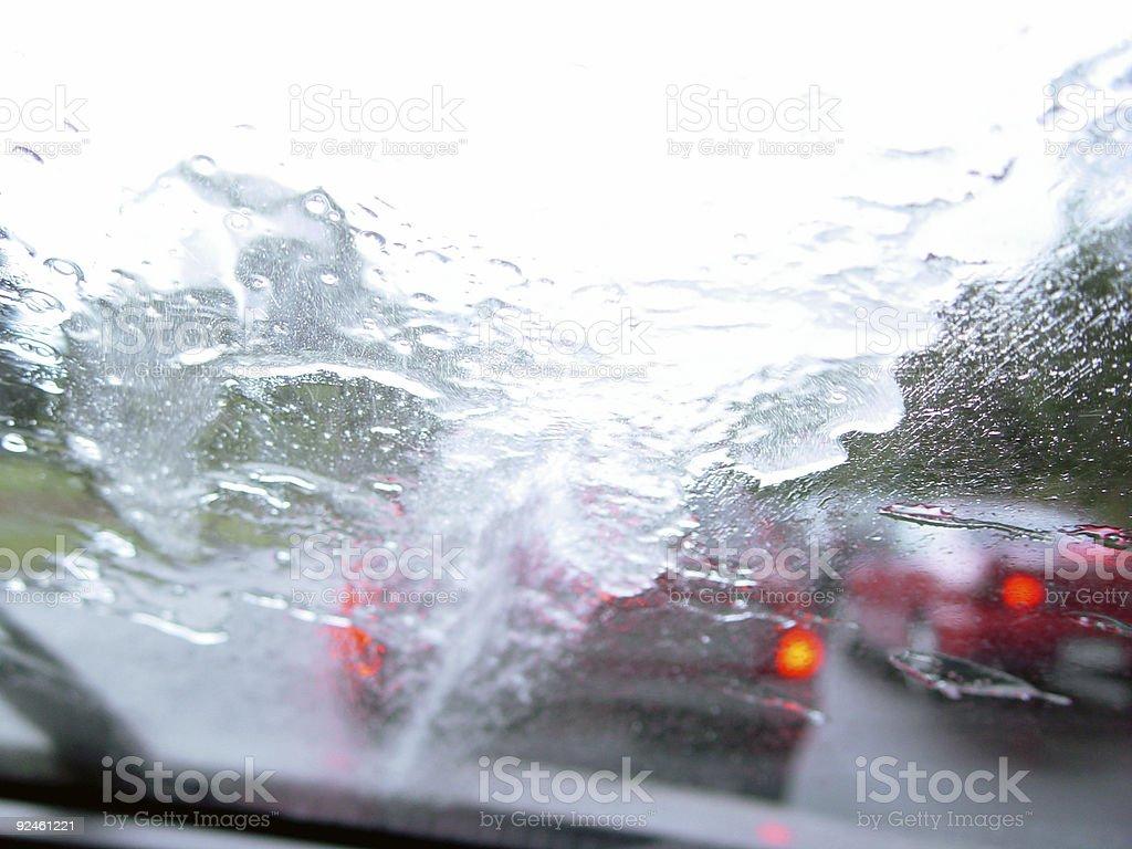 Window washing royalty-free stock photo