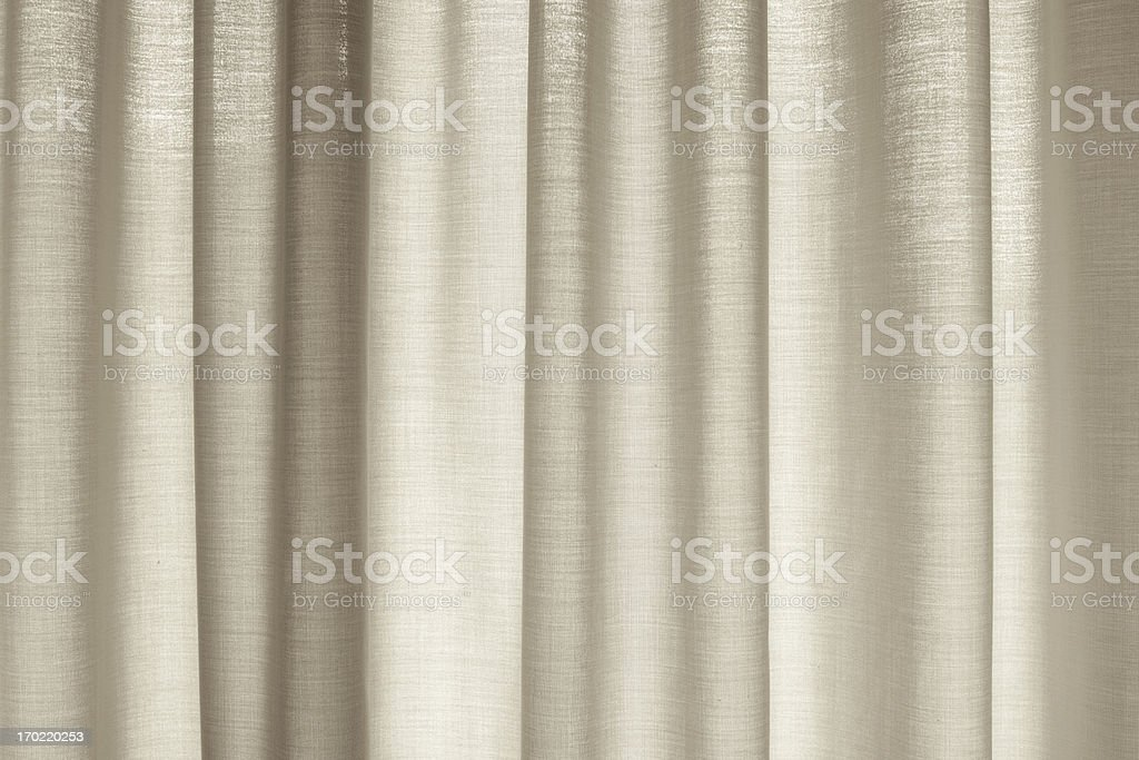 window with drapes covering it stock photo