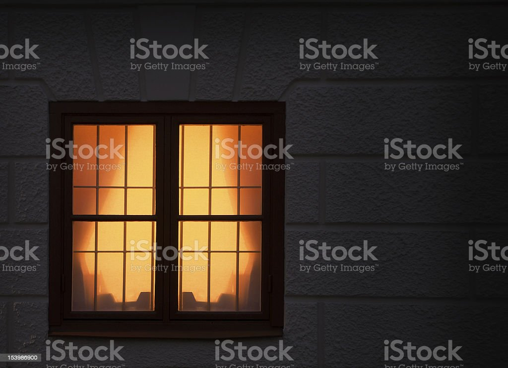 Window with light royalty-free stock photo