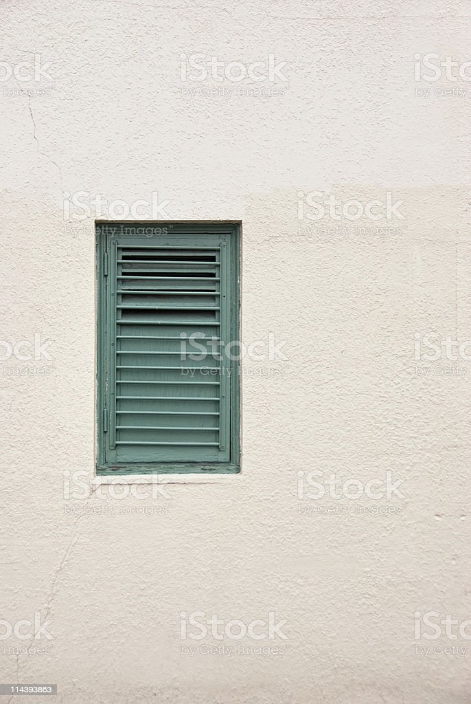 Window with Shutter stock photo