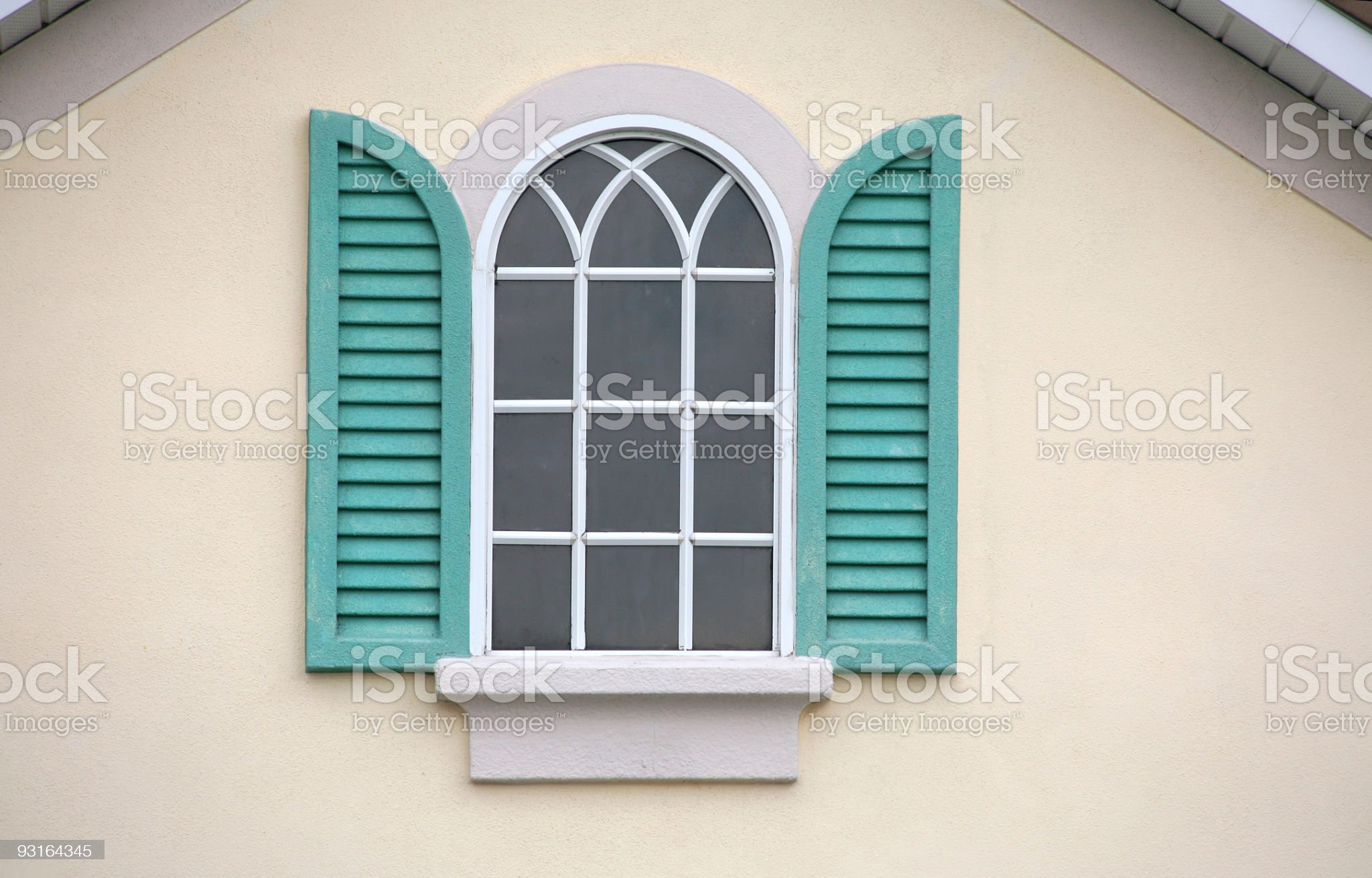 Window with Shutters royalty-free stock photo