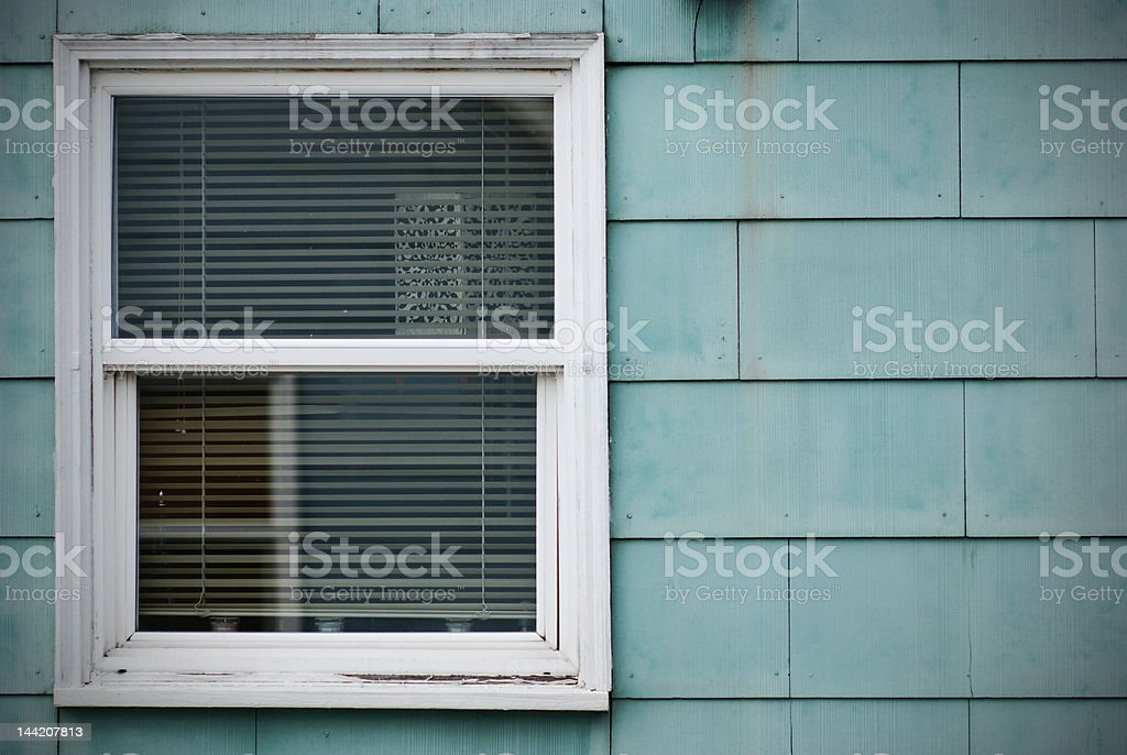 Windowed wall royalty-free stock photo