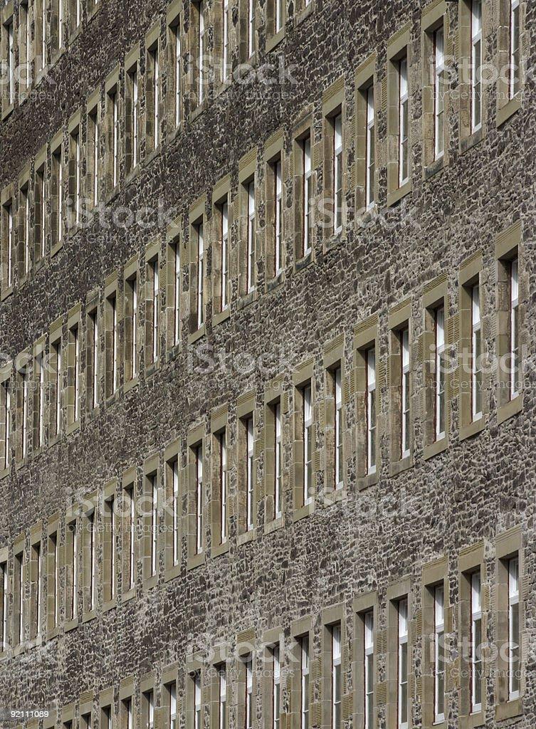 Fenêtres de 2 photo libre de droits