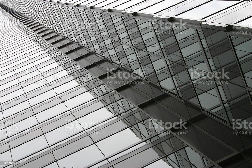 windows ad infinitum royalty-free stock photo