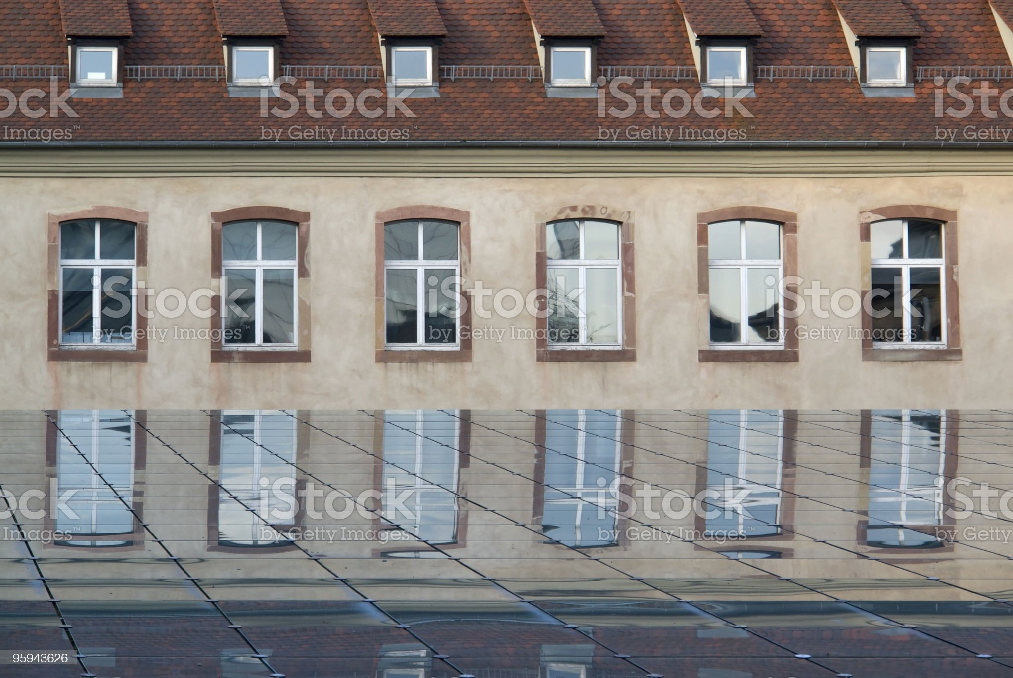 windows and glass royalty-free stock photo