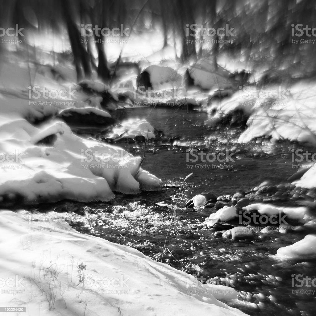 Windows creek in Pocono royalty-free stock photo
