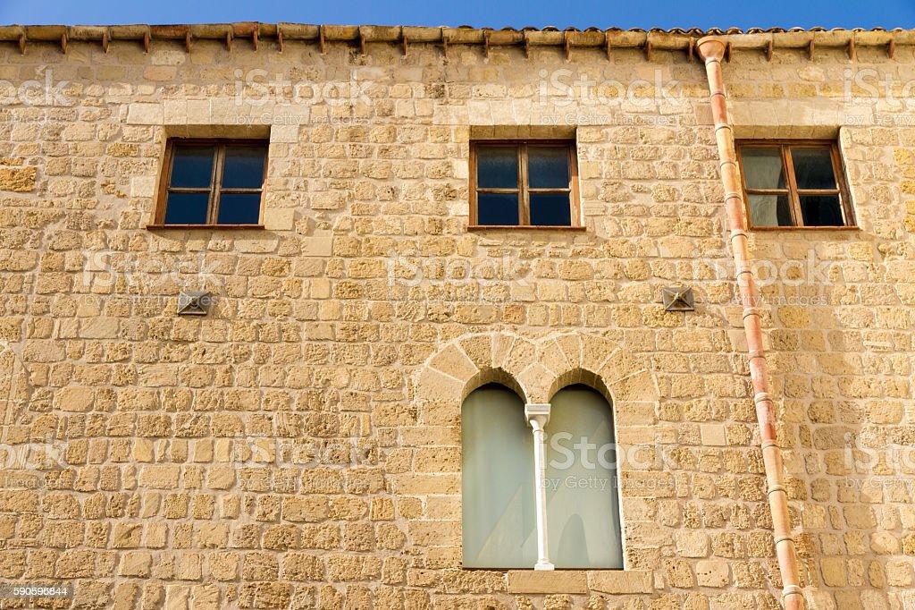 Windows in Palermo, Italy stock photo