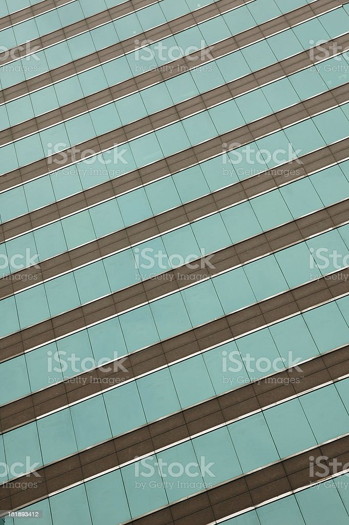 Windows in slope view royalty-free stock photo