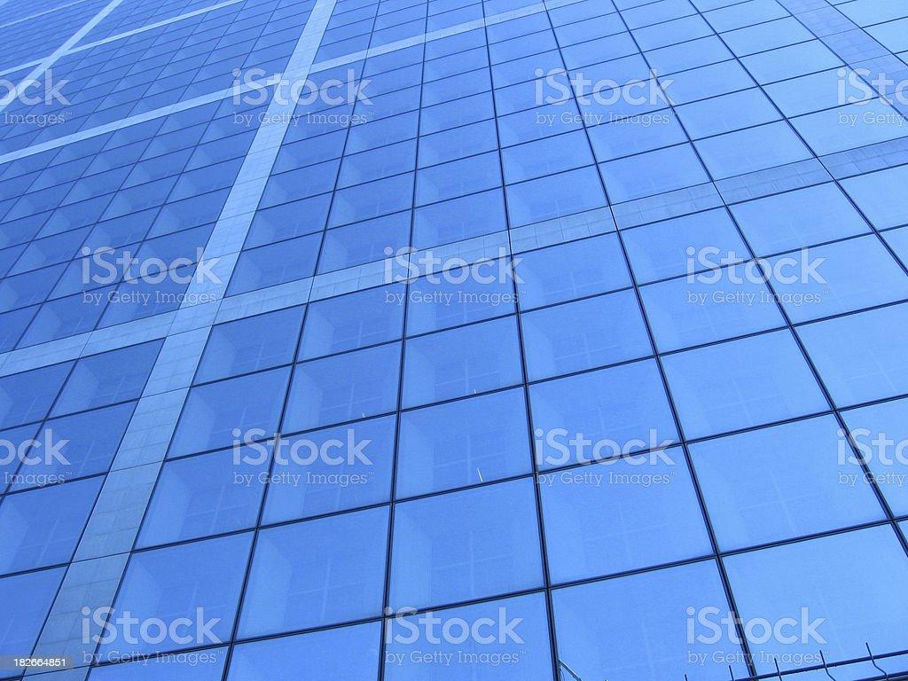 Windows – La Defense Paris stock photo