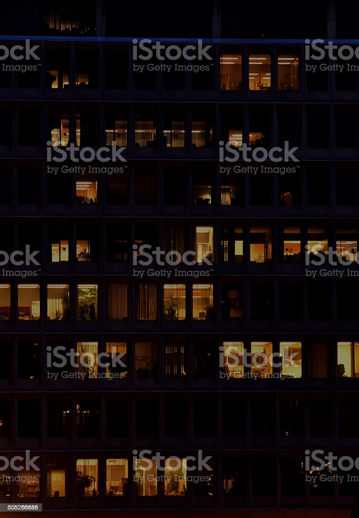 Windows of Commerce stock photo