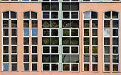 Windows of the office building
