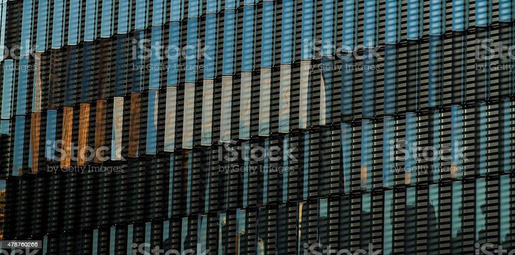 Windows na jednej World Trade Center zbiór zdjęć royalty-free