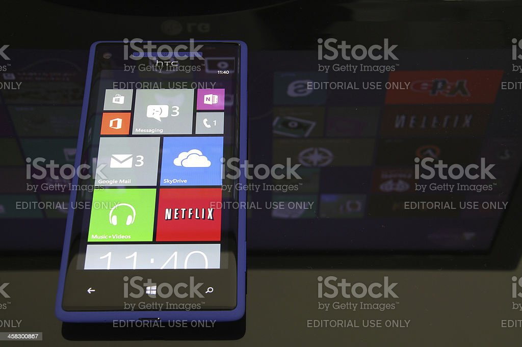Windows Phone 8 stock photo