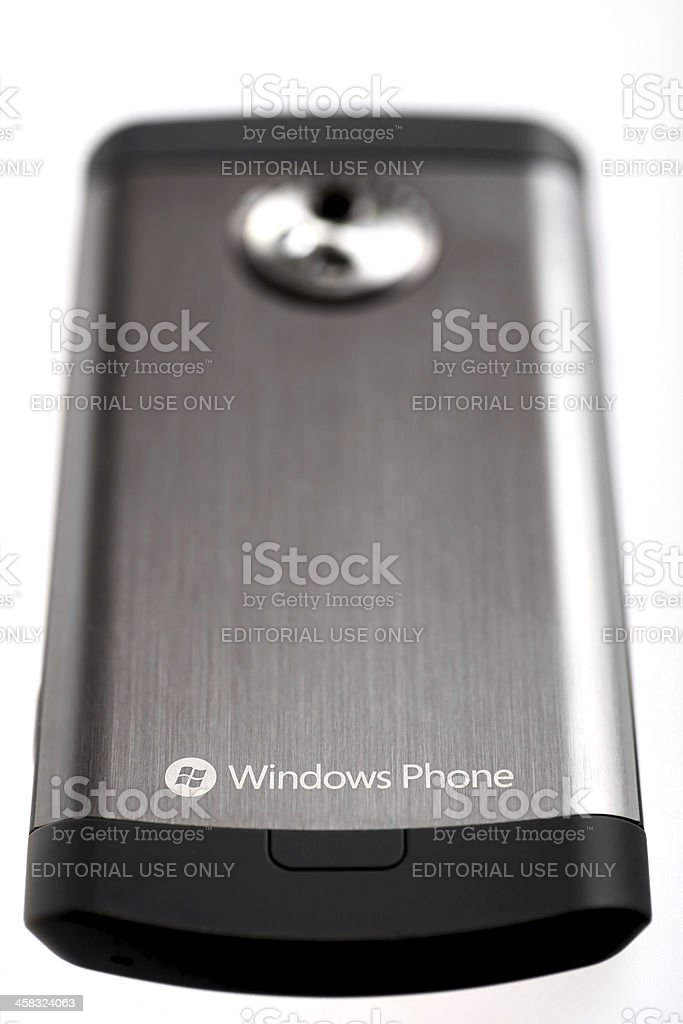 Windows phone royalty-free stock photo