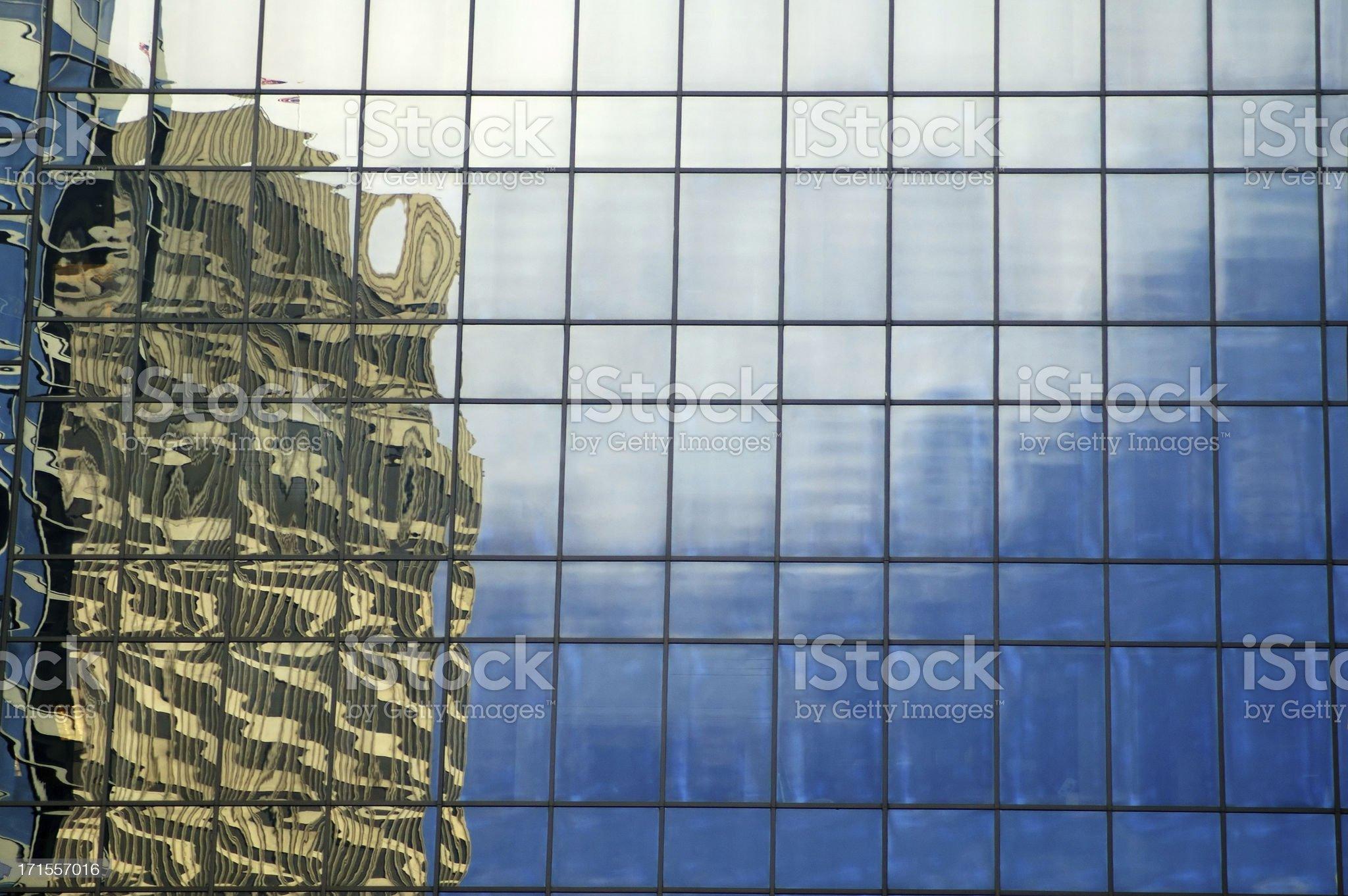 windows reflection royalty-free stock photo