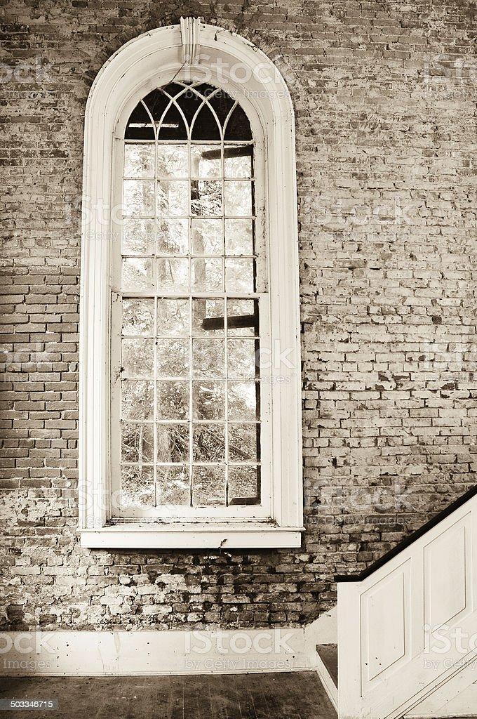 Windows To The Past stock photo