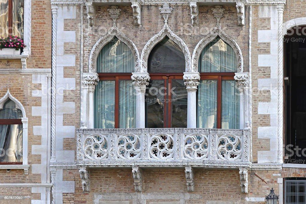 Windows Venice stock photo