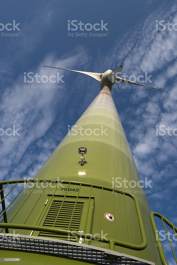 Windpower royalty-free stock photo