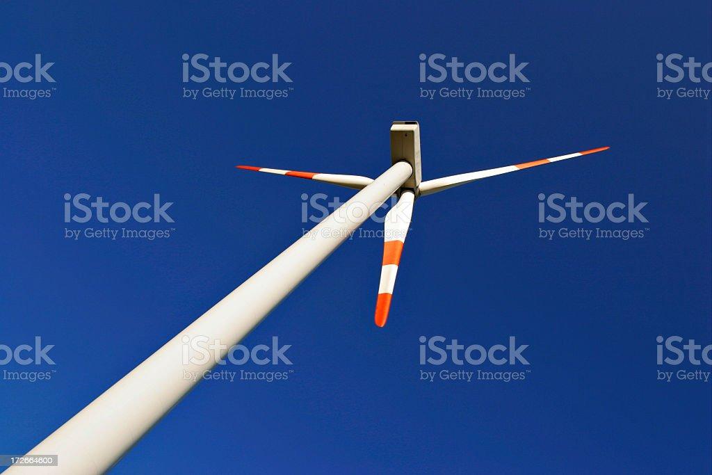 Windpower royalty-free stock photo
