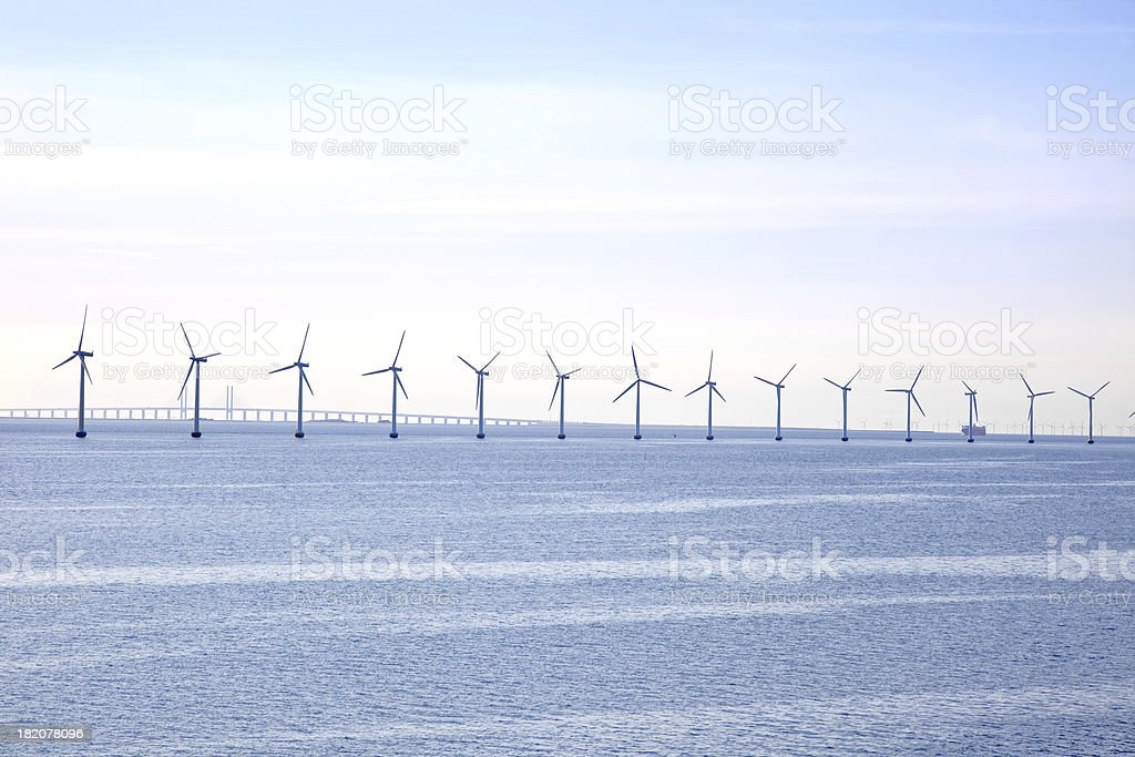 Windpower stock photo