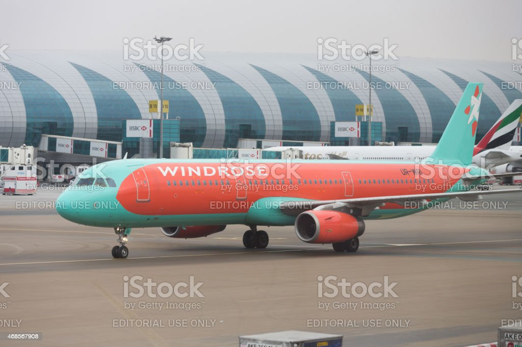 Windrose Airlines Airbus A321 stock photo