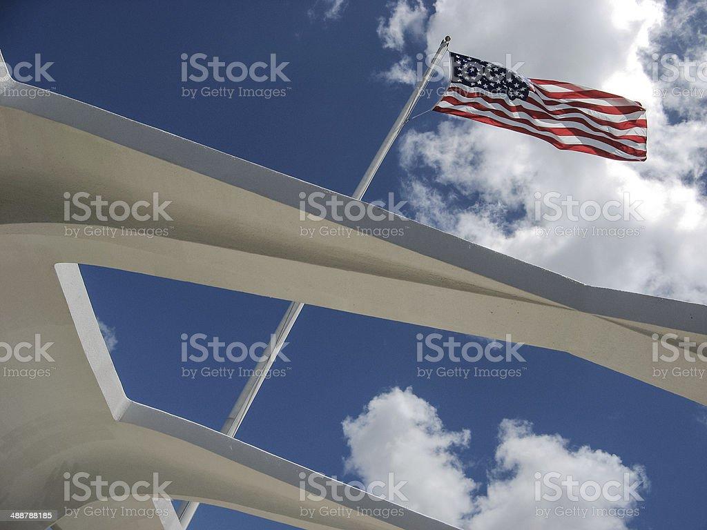 Winds of the Arizona stock photo
