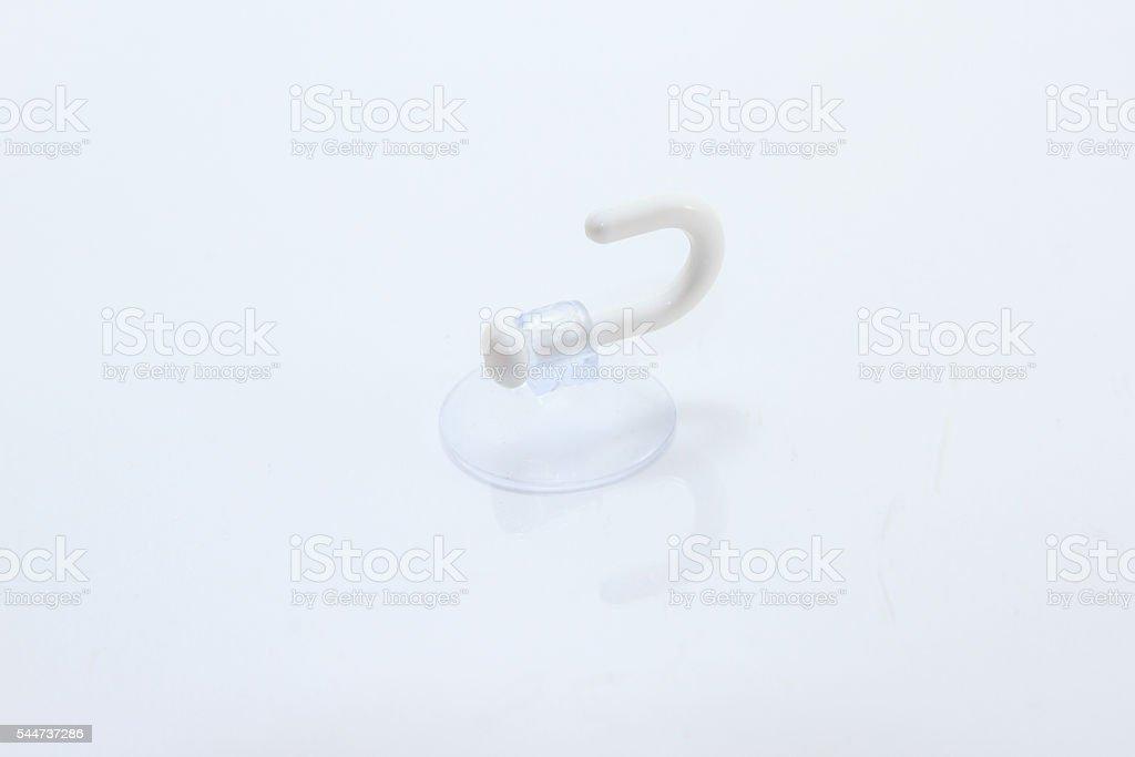 Windshield Suction /  suction cap stock photo