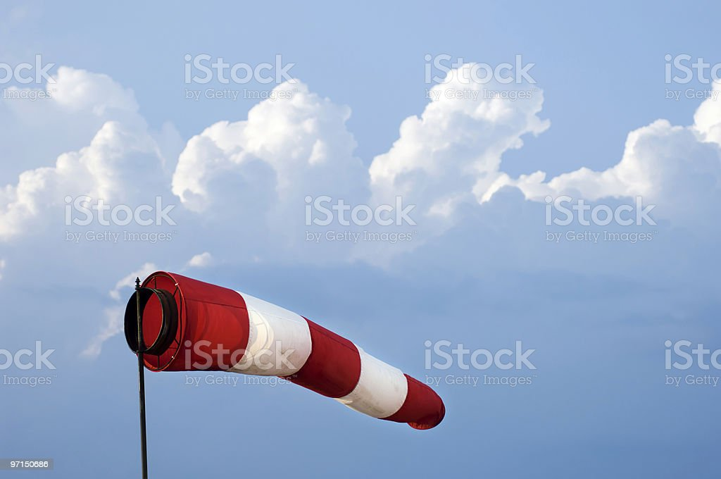 Windsock royalty-free stock photo