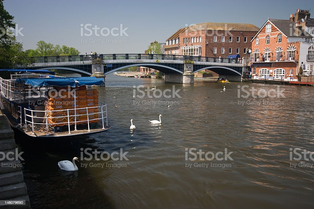 Windsor Bridge royalty-free stock photo