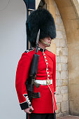Windsor guard in red uniform