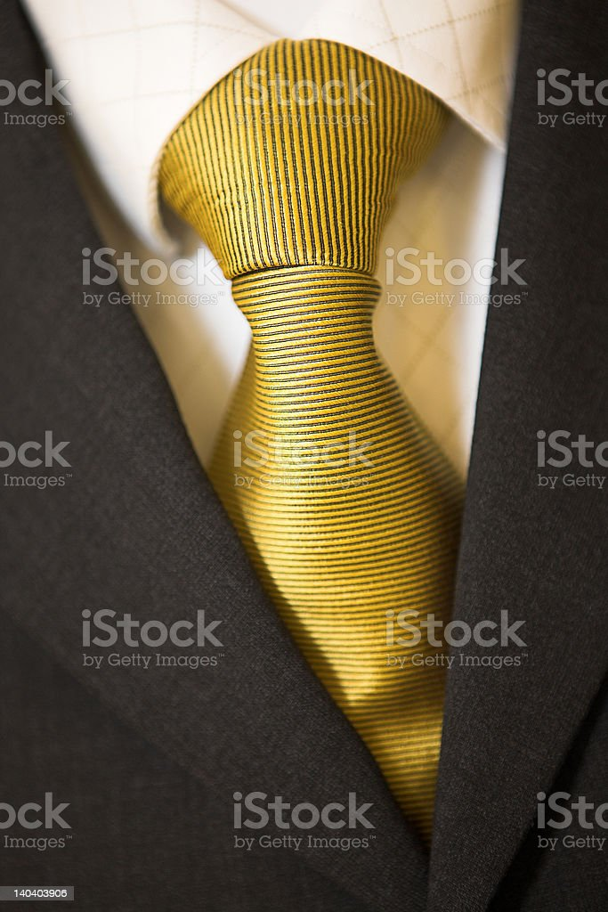 Windsor knot royalty-free stock photo