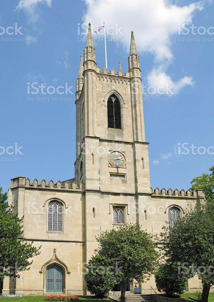 Windsor parish church. royalty-free stock photo