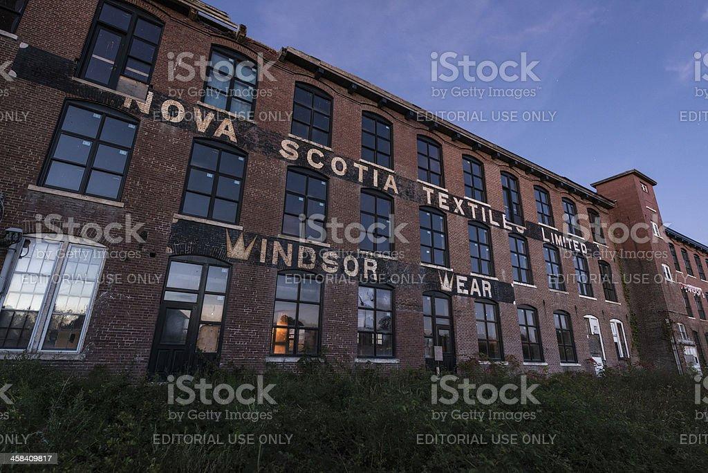 Windsor Wear Building royalty-free stock photo