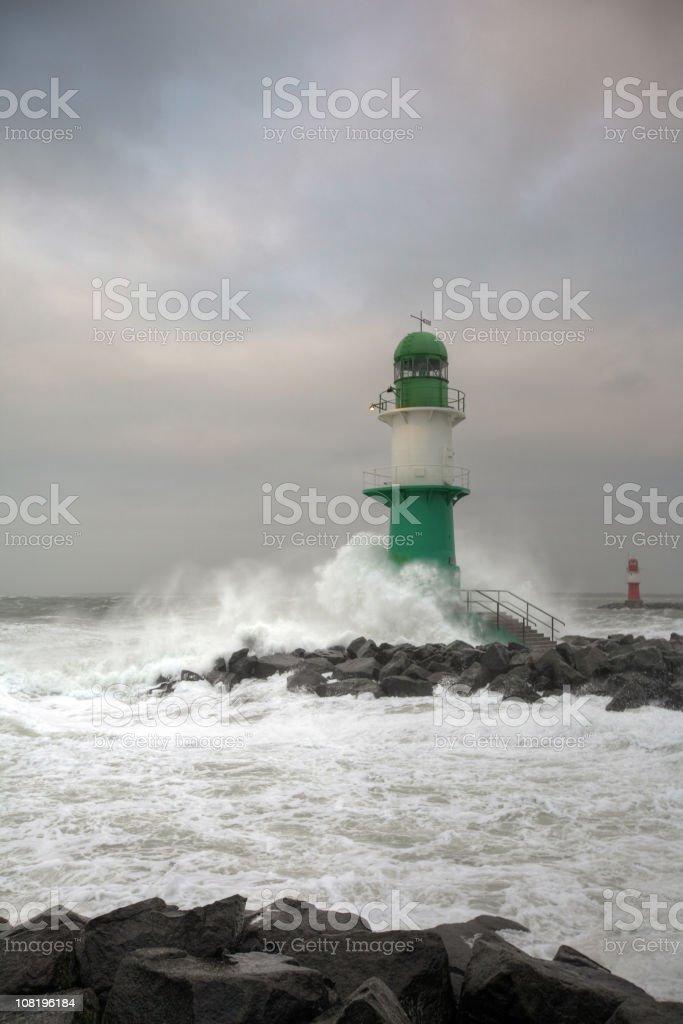 windstorm 'Emma' royalty-free stock photo